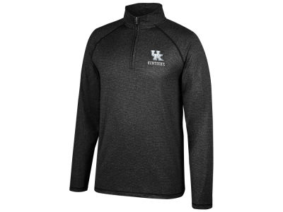 Kentucky Wildcats Top of the World NCAA Men's Lux Microstripe Quarter Zip Pullover