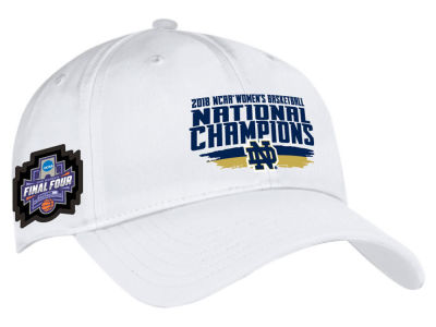 Notre Dame Fighting Irish Under Armour 2018 NCAA Women's Basketball National Champ Cap