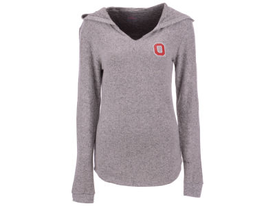 Ohio State Buckeyes Top of the World NCAA Women's Cozy Hooded Sweatshirt