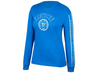 Kentucky Wildcats Top of the World NCAA Women's Boyfriend Long Sleeve T-Shirt