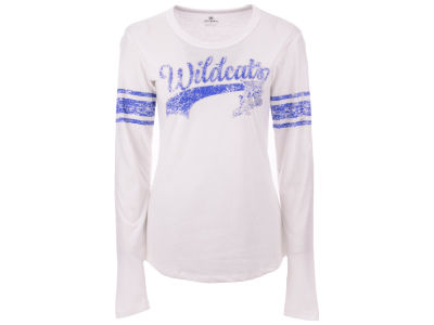 Kentucky Wildcats Top of the World NCAA Women's Sleeve Stripe Long Sleeve T-Shirt