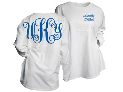 Kentucky Wildcats Top of the World NCAA Women's Monogram Long Sleeve Gameday T-shirt