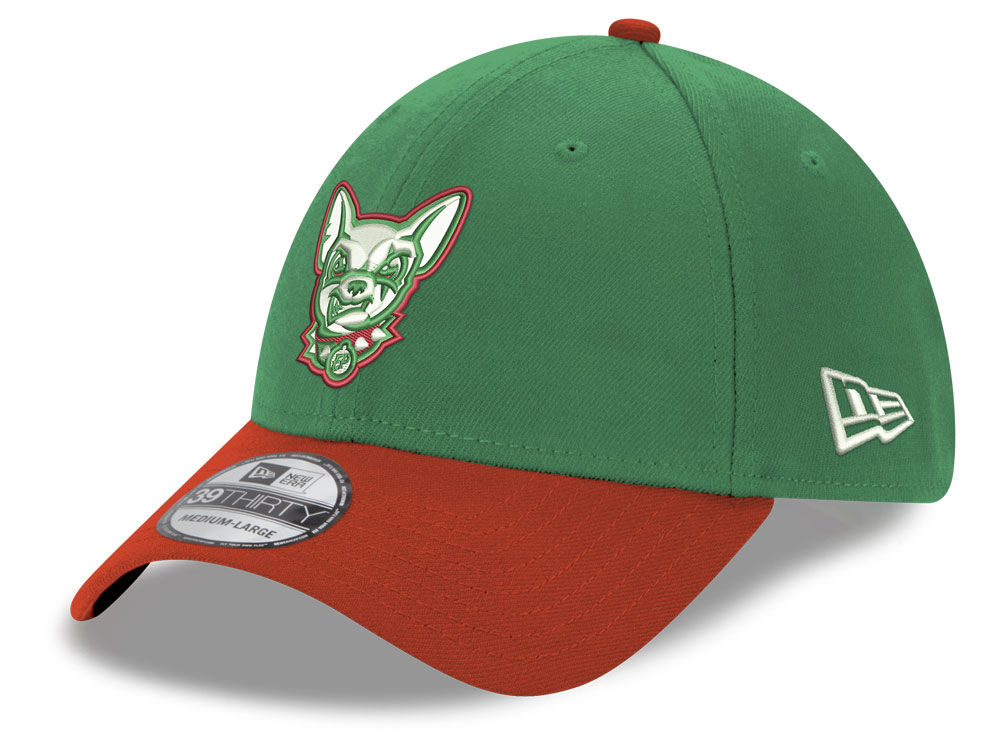 EL Paso Chihuahuas New Era MiLB Copa de la Diversion 39THIRTY Cap ... e539ff0d636