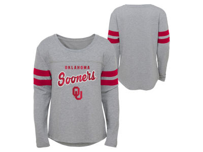 Oklahoma Sooners Outerstuff NCAA Girls Field Armor Long Sleeve T-Shirt