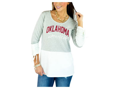 Oklahoma Sooners Gameday Couture 2018 NCAA Women's Colorblock Tunic