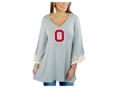 Gameday Couture NCAA Women's Lace Trim Tunic