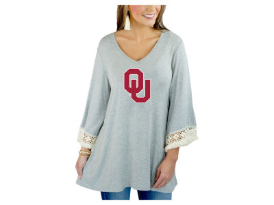 Oklahoma Sooners Gameday Couture NCAA Women's Lace Trim Tunic