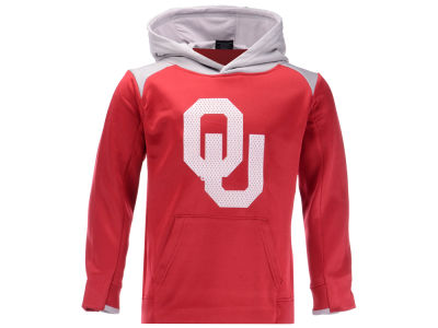 Oklahoma Sooners Outerstuff NCAA Kids Off the Grid Hooded Sweatshirt