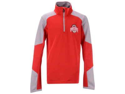Ohio State Buckeyes Outerstuff NCAA Youth Beta Quarter Zip Pullover