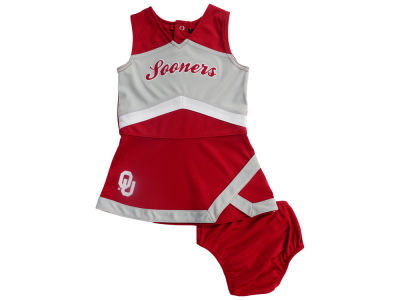 Oklahoma Sooners Outerstuff NCAA Infant Cheer Captain Dress