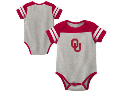 Oklahoma Sooners Outerstuff NCAA Infant Lil Blocker 2.0 Creeper