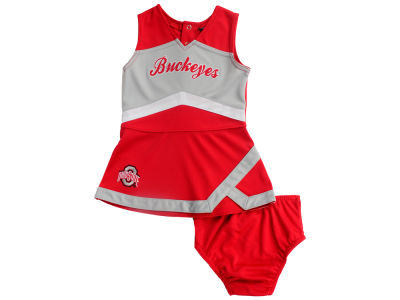 Ohio State Buckeyes Outerstuff NCAA Infant Cheer Captain Dress