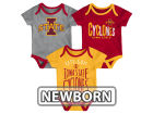 Iowa State Cyclones Outerstuff NCAA Newborn Lil Tailgater 3 Piece Set Infant Apparel