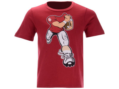 Oklahoma Sooners Outerstuff NCAA Toddler Yard Rush T-Shirt