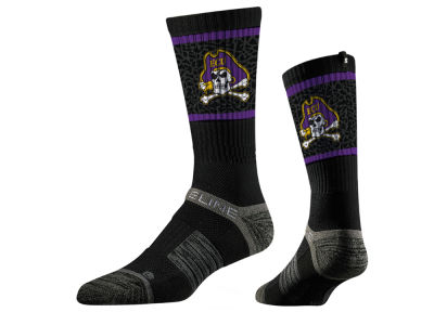 East Carolina Pirates Strideline NCAA Strideline Crew Socks II