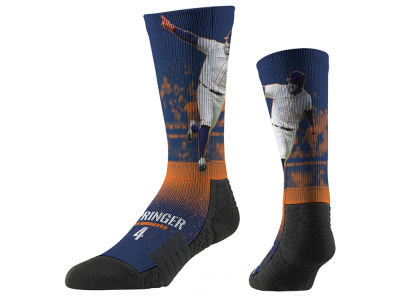 George Springer Strideline Full Sublimation Crew Socks