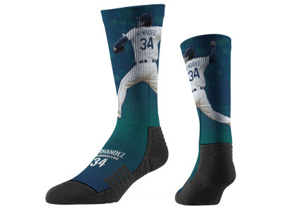 Felix Hernandez Strideline Full Sublimation Crew Socks