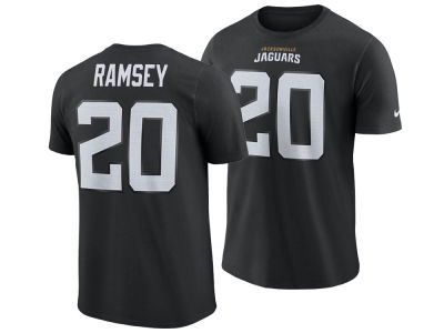 Jacksonville Jaguars Jalen Ramsey Nike NFL Men's Pride Name and Number Wordmark T-shirt