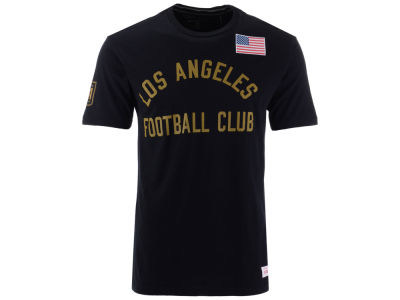 Los Angeles Football Club Mitchell & Ness MLS Men's Team History Tailored T-Shirt