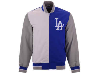 Los Angeles Dodgers Mitchell & Ness MLB Men's Team History Warm Up Jacket 2.0