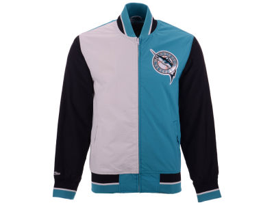 Florida Marlins Mitchell & Ness MLB Men's Team History Warm Up Jacket 2.0