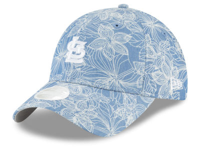St. Louis Cardinals New Era MLB Women's Faded Floral 9TWENTY Cap