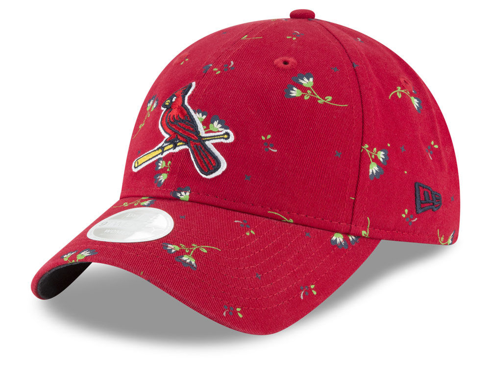 St. Louis Cardinals New Era MLB Women s Blossom 9TWENTY Cap  b3dc90fa21