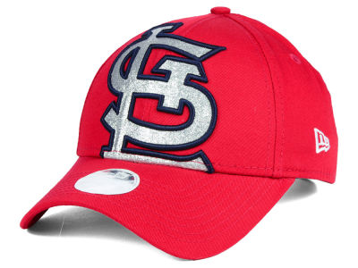 St. Louis Cardinals New Era MLB Women's Glitter Glam 9FORTY Cap