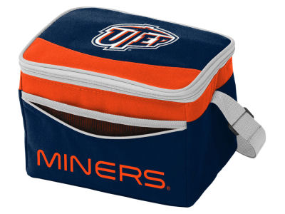 UTEP Miners Logo Brands Blizzard 6 Pack Cooler