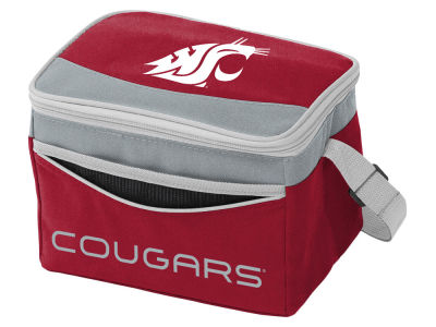 Washington State Cougars Logo Brands Blizzard 6 Pack Cooler