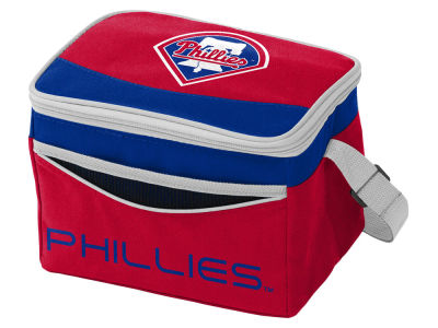 Philadelphia Phillies Logo Brands Blizzard 6 Pack Cooler