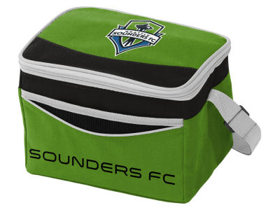 Seattle Sounders FC Logo Brands Blizzard 6 Pack Cooler