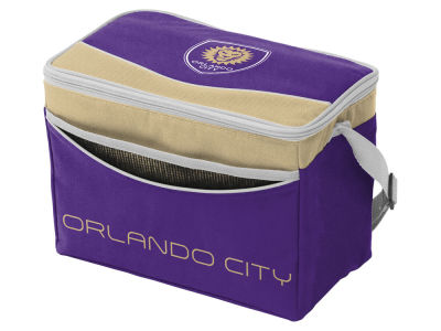 Orlando City SC Logo Brands Blizzard 12 Pack Cooler