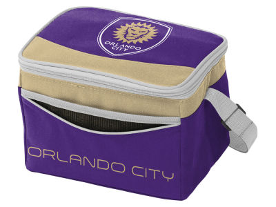 Orlando City SC Logo Brands Blizzard 6 Pack Cooler