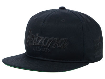 Arizona Wildcats Nike NCAA Sport Specialties Black on Black Snapback Cap
