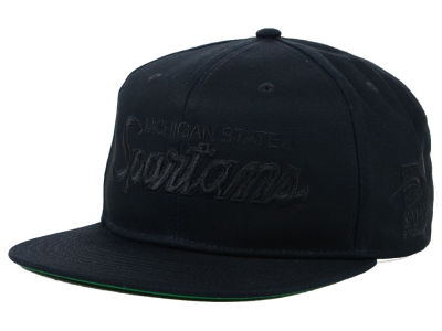 Michigan State Spartans Nike NCAA Sport Specialties Black on Black Snapback Cap