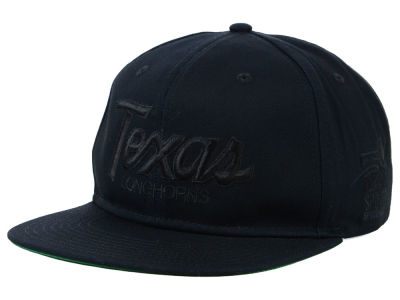 Texas Longhorns Nike NCAA Sport Specialties Black on Black Snapback Cap