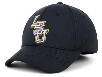 LSU Tigers Top of the World NCAA Pitted Flex Cap