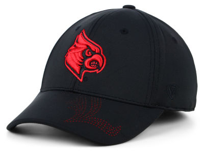 Louisville Cardinals Top of the World NCAA Pitted Flex Cap