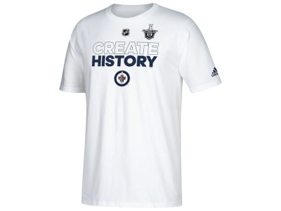 Winnipeg Jets adidas NHL Men's Stanley Cup Create History T-shirt