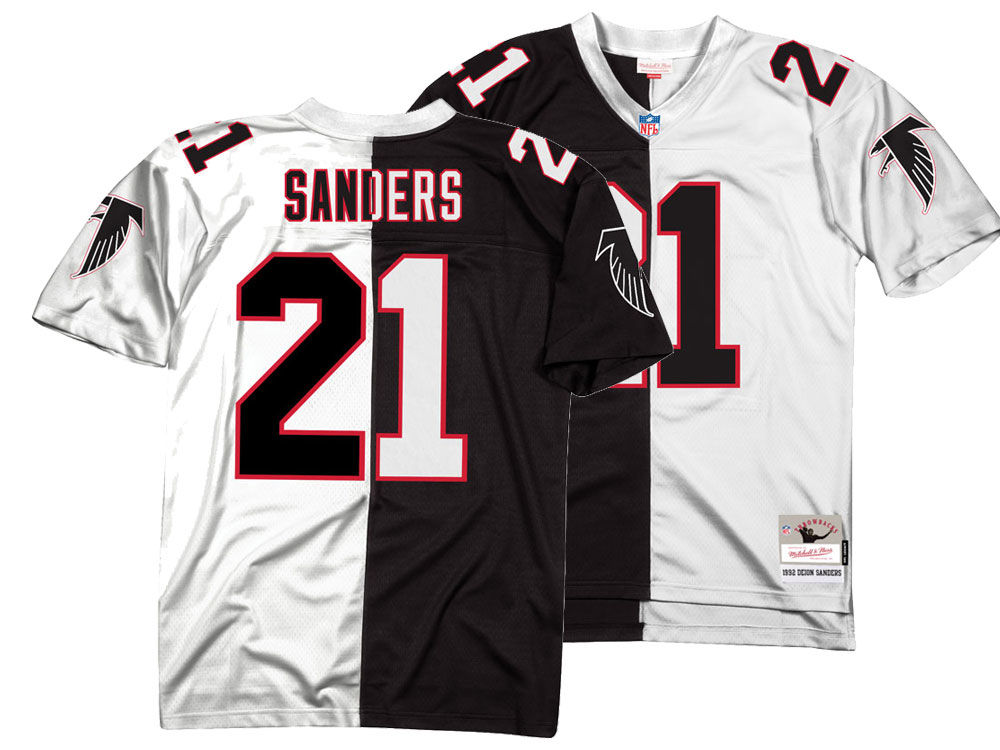 official photos 3e0b3 1e8e5 new zealand deion sanders atlanta falcons jersey 715af 772c3