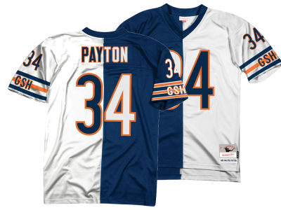 Chicago Bears Walter Payton Mitchell & Ness NFL Men's Home & Away Split Legacy Jersey