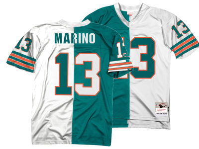 Miami Dolphins Dan Marino Mitchell & Ness NFL Men's Home & Away Split Legacy Jersey