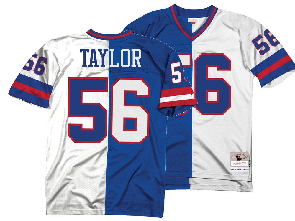 4cac1d5b8 New York Giants Lawrence Taylor Mitchell   Ness NFL Men s Home   Away Split  Legacy Jersey