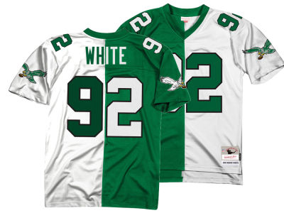 Philadelphia Eagles Reggie White Mitchell & Ness NFL Men's Home & Away Split Legacy Jersey