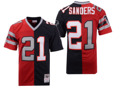 2ad5a28b5 Atlanta Falcons Deion Sanders Mitchell   Ness NFL Men s Home   Away Split  Legacy Jersey