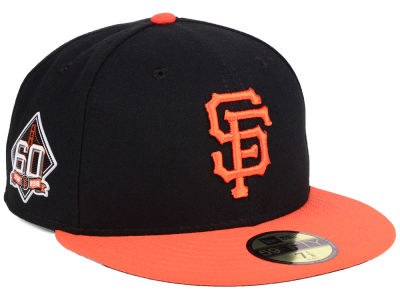 San Francisco Giants New Era MLB Authentic Collection 60th Anniversary 59FIFTY Cap