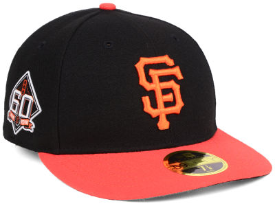 San Francisco Giants New Era MLB Authentic Collection 60th Anniversary Low Profile 59FIFTY Cap