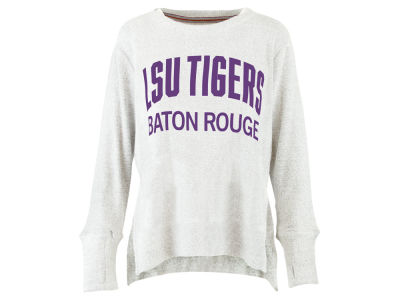 LSU Tigers Pressbox NCAA Women's Cuddle Knit Sweatshirt