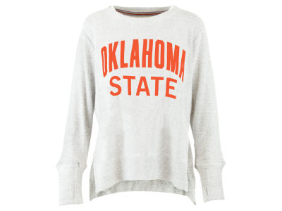 Oklahoma State Cowboys Pressbox NCAA Women's Cuddle Knit Sweatshirt